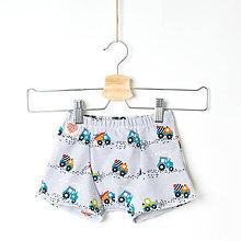 Detské oblečenie - Chlapčenské boxerky - stavebné stroje - 11522934_