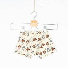 Detské oblečenie - Chlapčenské boxerky - zvieratká - 11522940_