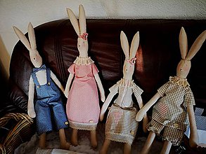 Dekorácie - Veľkonočný zajac - 11519344_