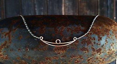 """Náhrdelníky - Náhrdelník """"Bronzová loď"""" - 11521262_"""