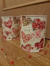 Nádoby - Valentínka - dopredaj - 11522361_