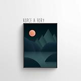 Grafika - Kopce a hory - 11520961_