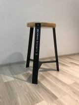 Nábytok - Predám štýlovú stoličku, industriálny moderný štýl - Jimy Hendrix - 11520344_