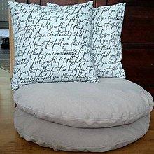 Úžitkový textil - Vankúše na želanie - 11523293_