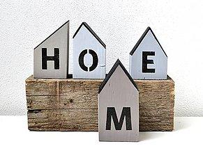 Dekorácie - Drevené domčeky - HOME - 11524195_