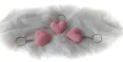 Kľúčenky - Ružové  prekvapenie - 11523617_