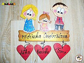 Tabuľky - Menovka - rodinka - 11525992_