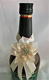 Iné doplnky - Stuhy na svadobné fľaše - 11524992_