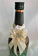 Iné doplnky - Stuhy na svadobné fľaše - 11525034_