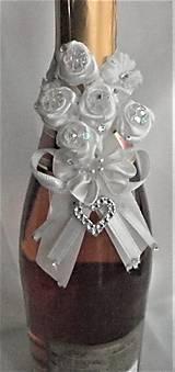 Iné doplnky - Stuhy na svadobné fľaše - 11525376_