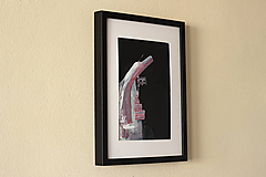 Obrazy - hights. akryl na kartóne . A4 - 11525599_
