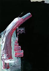 Obrazy - hights. akryl na kartóne . A4 - 11525602_