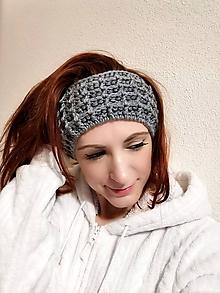 Ozdoby do vlasov - Merino čelenka Vafle - 11523485_