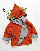 Detské oblečenie - Obojstranný kabátik Juro Výpredaj - 11524763_
