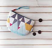 Taštičky - Peňaženka Geometrické tvary - 11523504_