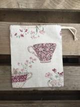 Úžitkový textil - vrecúško nostalgia - 11523684_