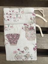 Úžitkový textil - vrecúško nostalgia - 11523689_