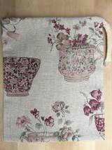 Úžitkový textil - vrecúško nostalgia - 11523692_