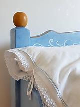 Úžitkový textil - Posteľné obliečky Promise of Love (Biela) - 11525840_