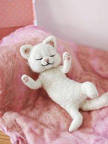 Hračky - Mačička v kufríku - 11527006_