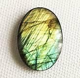 Minerály - labradorit 29 x 20 mm - 11527545_