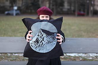 Úžitkový textil - Vankúš Kriváň / Vysoké Tatry - 2 494,7 m n. m. - 11527328_