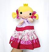 Maňuška princezná - v ružičkovej sukienke