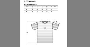 Tričká - Rodinná námornícka sada tričiek - srdcia - 11529615_