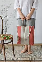 Nákupné tašky - Ľanová taška De Em - 11528460_