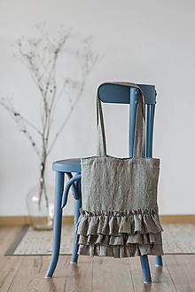 Iné tašky - Ľanová taška Viktoria - 11528896_