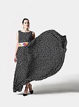 Šaty - Šaty dlhé bodkované - 11530891_
