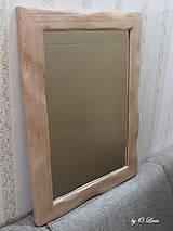 Zrkadlá - Zrkadlo masívne - BUKOVÉ Natural - lak - 11530482_