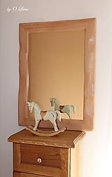 Zrkadlá - Zrkadlo masívne - BUKOVÉ Natural - lak - 11530485_