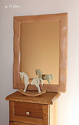 Zrkadlo masívne - BUKOVÉ Natural - lak