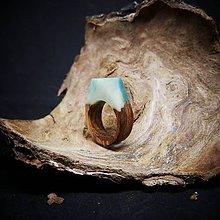 Prstene - Drevený prsteň: Za polárnym kruhom - 11533812_