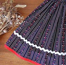 Detské oblečenie - Detská suknička / sukňa - folk - 11531131_