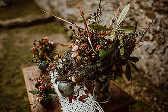 Úžitkový textil - Makramé štóla na stôl - 11533154_