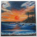 Obrazy - Západ slnka na Cypre - 11532693_