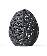 Dekorácie - Velkonoční vajce - Voronoi - 11532226_