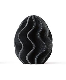 Dekorácie - Velkonoční vajce - Wavy - 11532057_