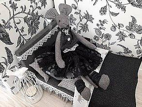 Hračky - Susugo Mouse in bed - myška v posteli. - 11533281_