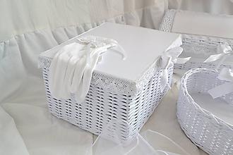 Košíky - Svadobná krabička na dary od hostí - 11532065_