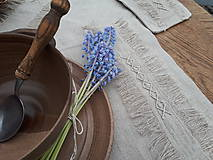 Úžitkový textil - Ľanové prestieranie Modesty - 11533695_