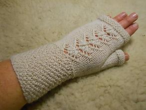 Rukavice - Bezprstové rukavice - návleky - 11534138_