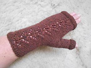 Rukavice - Bezprstové rukavice - návleky - 11535454_