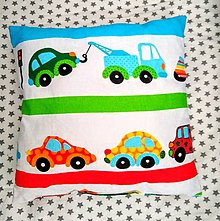 Úžitkový textil - Prvý vankúšik - 11534909_