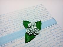 Papiernictvo - Pohľadnica ... si moja ruža II - 11537026_