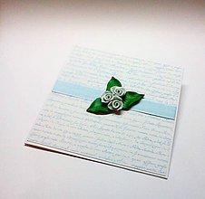 Papiernictvo - Pohľadnica ... si moja ruža II - 11537018_