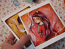Papiernictvo - Ty a ja/ pohľadnice - 11536630_