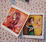 Papiernictvo - Ty a ja/ pohľadnice - 11536632_